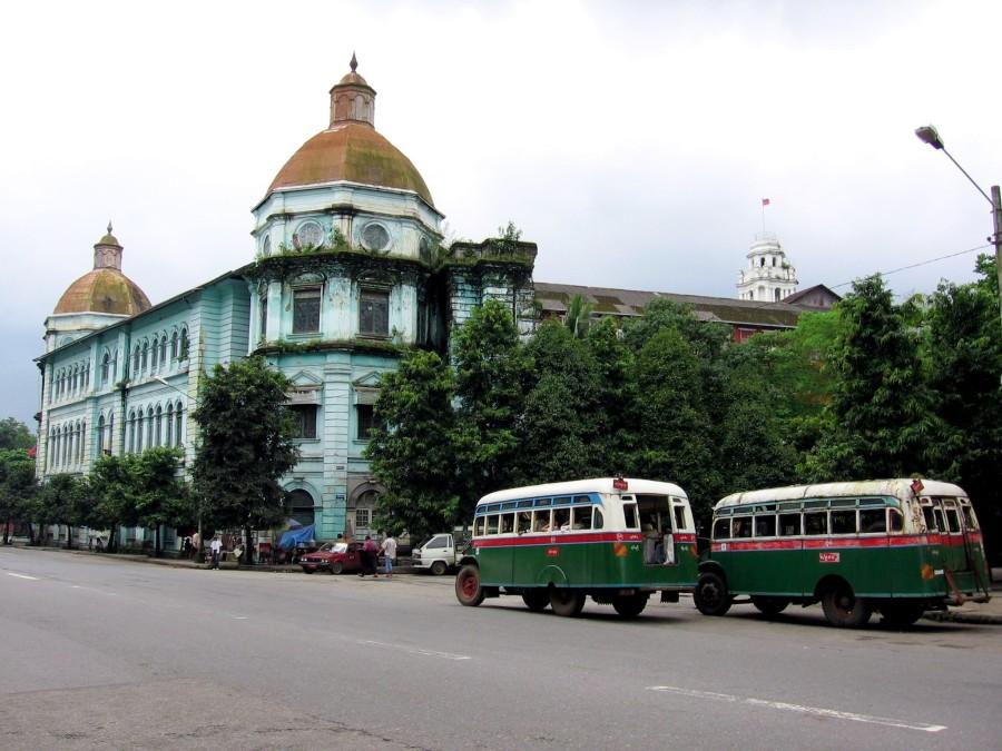 Rangoon, la porte de la Birmanie